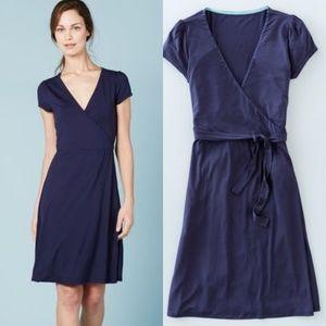 Boden Dresses - Boden Navy Summer Wrap Dress WW012 7ba1cd4b4